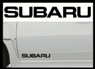 SUBARU CAR BODY DECALS